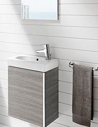 Vanity Unit Bathroom Grey twyford vello handrinse wenge vanity unit - twyford vo0011we