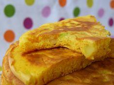 Pancakes de courgettes au bacon