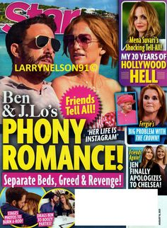 Jennifer Aniston Friends, Mena Suvari, Star Magazine, Greed, For Stars, Revenge, Burns, Magazines, Romance