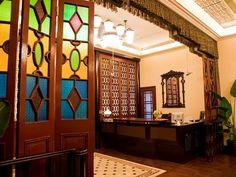 老上海风格的贝公馆套房是酒店的最大特色之一。它由原主人卧房改建,古朴而不失优雅。