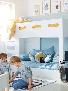 Une chambre organisée et bien rangée pour la rentrée #chambre #décoration #home #homesweethome #kidroom Fuji, Home And Deco, Toddler Bed, Baby, Loft, Pink, Place, Furniture, Home Decor