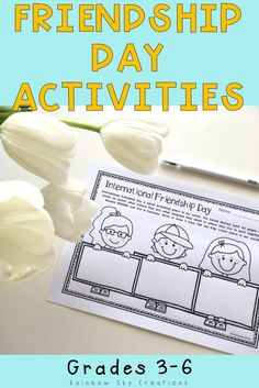 Check out these friendship activities. Printables are no prep and meaningful for students. Ideal for back to school season or to celebrate International Friendship Day {first, second, homeschool} Friendship Lessons, Friendship Activities, International Friendship Day, International School, School Resources, Learning Resources, Australian Curriculum, Primary Classroom, New Teachers