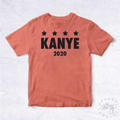 NEW Tee Shirt Kanye 2020 BIO HANDMADE by ApparelAddictFrance