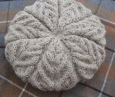 Kira knitting: Knitted winter hat 1