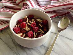 nesscooks: Dark Chocolate & Raspberry Porridge