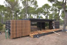 The Pop-Up House prototype is located in the South of France (Photo: Elisabeth Montagnier)