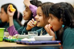 https://flic.kr/p/wx1V4o | Children eating school meals | Nutritious school meals keep students healthy and ready to learn.