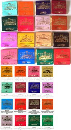 Incense 43405: Incense Match Books - Assorted Variety Scented Matches - Box Lot Of 15 -> BUY IT NOW ONLY: $117.55 on eBay!