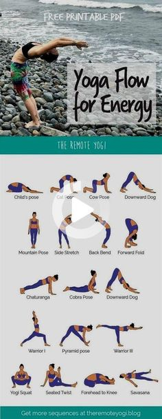 This energizing morning yoga routine is available in a free, printable PDF to make it easy to grab your mat and enjoy a quick practice at any time! #fitness #workout #fitnessandworkoutsgym #fitnessandworkouts #gym #workouts #morningyoga Morning Yoga Flow, Morning Yoga Sequences, Morning Yoga Routine, Yoga Flow Sequence, Make It Easy, Yoga Routine For Beginners, Different Types Of Yoga, Yoga For Back Pain, Fitness