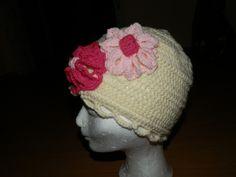Dievčenská kvetová čiapka