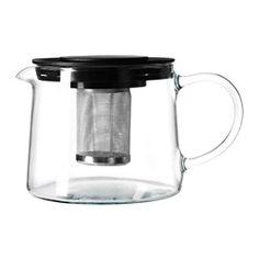 RIKLIG Teapot, glass - IKEA