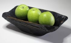 Carved Wooden Bowl, Wooden Bowls, Rustic Cutting Boards, Rustic Bowls, Pear Trees, Sunflower Oil, Wood Crafts, Serving Bowls, Decorative Bowls