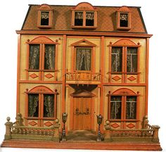 Christian Hacker´s House Made in Nuremberg in 1900