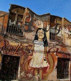 El graffiti: El Niño de las pinturas de Granada