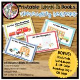 Printable leveled books for Kindergarten guided reading will increase student engagement during reading time and come with QR codes for easy online and at-home reading!