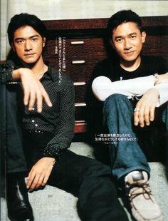 Takeshi Kaneshiro & Tony Leung