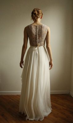 wedding gown by Leanne Marshall