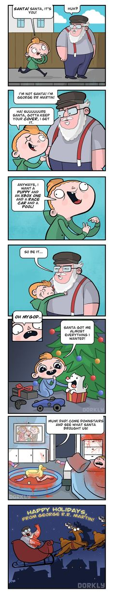 DORKLY COMIC: I'm Dreaming of a Red Christmas
