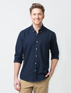 Mens Linen Long Sleeve V Neck Button Up Shirt Casual Business Fit Top STORTO