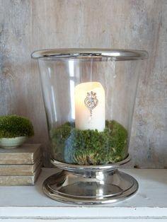 Elegant Hurricane Lamp
