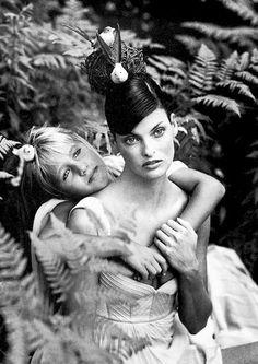 "Linda Evangelista for Gianni Versace ""Vintage"""