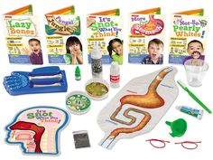 How Does Your Body Work? Experiment Kit Perfect for the science lover!
