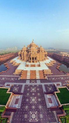 Hindu temple Akshar dham,India