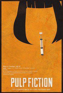 Pulp Fiction: Tempo de Violência - Poster / Capa / Cartaz - Oficial 13