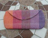 Girasol Rainbow Clutch-Wrap Scrap Creations, Etsy