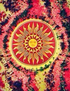 ☮ American Hippie Psychedelic Art ~ Sun