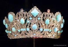 Napoleon's Crown Persian Turquoise & Diamond Diadem of Marie-Louise