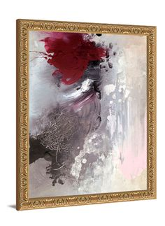 Large canvas art - Beauty From Ashes framed art by Lindsay Letters.