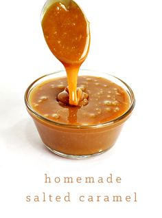 30 minute homemade salted caramel recipe!! You probably have everything you need in your pantry already! Super yummy!