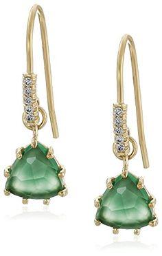 Kalan by Suzanne Kalan Green Onyx Drop Earrings discount  Kalan By Suzanne Kalan discount
