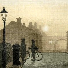 A collection of sepia and silhouette cross stitch kits by designers, Bothy Threads and Heritage Crafts. Cross Stitch Kits, Cross Stitch Designs, Cross Stitch Patterns, Cross Stitching, Cross Stitch Embroidery, Cross Stitch Silhouette, Heritage Crafts, Cross Stitch Pictures, Tapestry Crochet