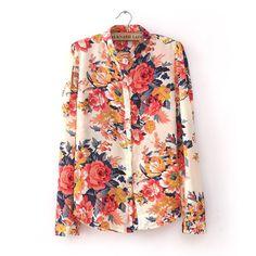 Vintage Floral Print Shirt http://www.evthm.com/shop/282-vintage-floral-print-shirt-32243018669.html