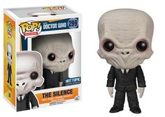 Funko releasing The Silence pop vinyl from Doctor Who