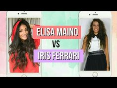 ELISA MAINO vs IRIS FERRARI | Musical.ly battle - YouTube