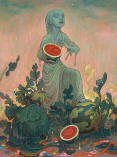 Recent Paintings by James Jean   ILLUSTRATION AGE