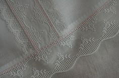 Swiss Insertions & french lace