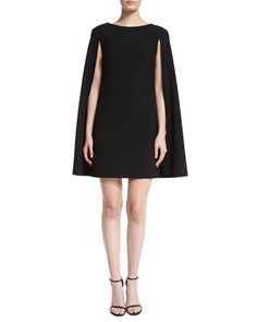 Cape-Style+Shift+Dress++by+Trina+Turk+at+Neiman+Marcus.