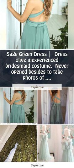 """""""Sage Green Dress, this is the subject of this mounth... Hello my dainty follower. We have patched up these four Sage Green Dress pictures from 774+ different ideas for you. While doing this, I paid attention to the fact that there are designs that can be viral in this year and many more. Please click on the 'Read More' button to see the rest of the content related to the Sage Green Dress... Olive Green Bridesmaid Dresses, Sage Green Dress, Prom Dresses, Formal Dresses, Dress Picture, I Dress, Rest, Content, Costumes"""