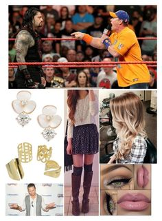 """Watching Raw backstage"" by lainariddle ❤ liked on Polyvore featuring Kate Spade and WWE"