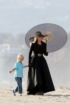 """ladygagadaily: """" """"Lady Gaga filming """"AHS: Hotel"""" in Los Angeles, CA. """" """""""