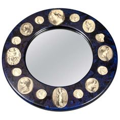 Italian  Mirror by Piero Fornasetti | From a unique collection of antique and modern wall mirrors at http://www.1stdibs.com/furniture/mirrors/wall-mirrors/