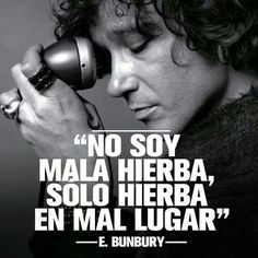 Enrique bunbury.
