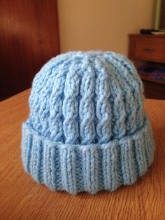 f5fa7c198a5 Lovely handmade knitted babies new born hat by Hannahlouiseknits ♡♡ Baby  Hats Knitting