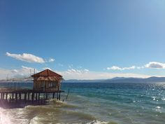 Aidipsos, evia Greek Islands, Places To Go, Landscapes, Cabin, Eyes, House Styles, World, Pretty, Greece