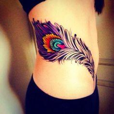 Tatuajes de plumas: ideas y significado