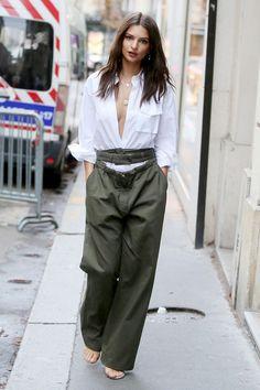 Celebrity Street Style Star of the Year: Emily Ratajkowski via @WhoWhatWearUK
